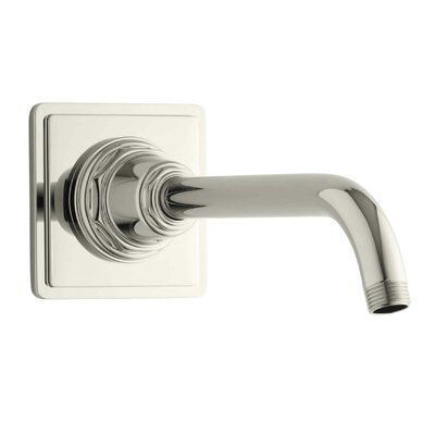 Pinstripe Showerarm and Flange Finish: Vibrant Polished Nickel