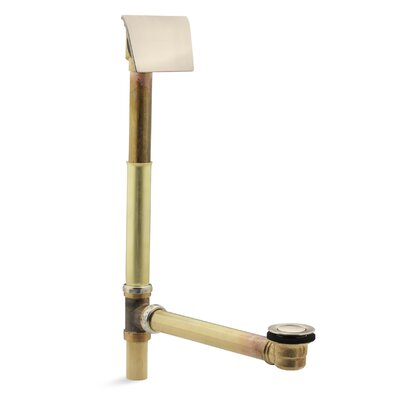 "Clearflo 1-1/2"" Contoured 1.5"" Leg Tub Drain With Overflow Finish: Vibrant Brushed Bronze"
