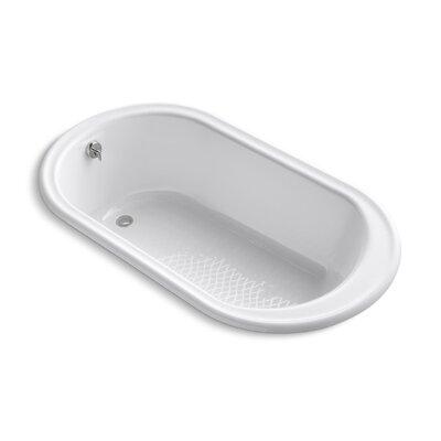"Iron Works 66"" x 36"" Soaking Bathtub Finish: White"