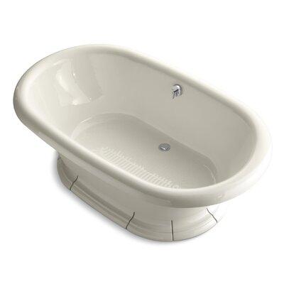 "Vintage 72"" x 42"" Soaking Bathtub Finish: Almond"