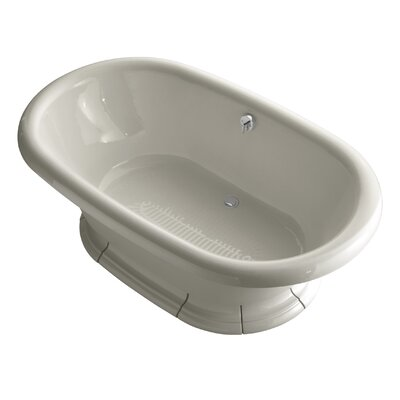 """Vintage 72"""" x 42"""" Soaking Bathtub Finish: Sandbar"""