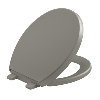 Reveal Quiet-Close with Grip-Tight Round-Front Toilet Seat Finish: Cashmere