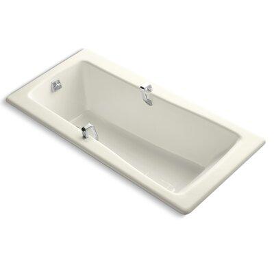 "Maestro 66"" x 32"" Soaking Bathtub Finish: Biscuit"