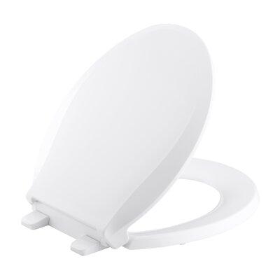 Kohler Cachet Quiet-Close with Grip-Tight Round-Front Toilet Seat