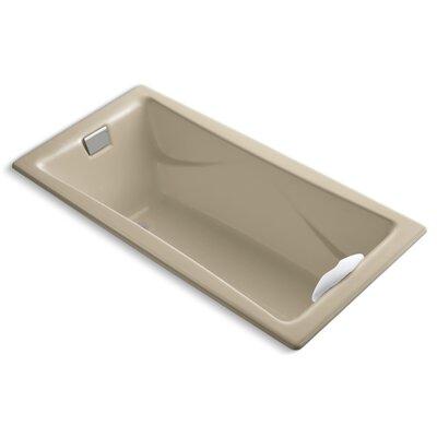 "Tea-For-Two 72"" x 36"" Soaking Bathtub Finish: Mexican Sand"