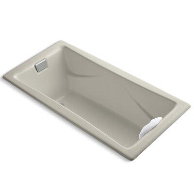 "Tea-For-Two 72"" x 36"" Soaking Bathtub Finish: Sandbar"