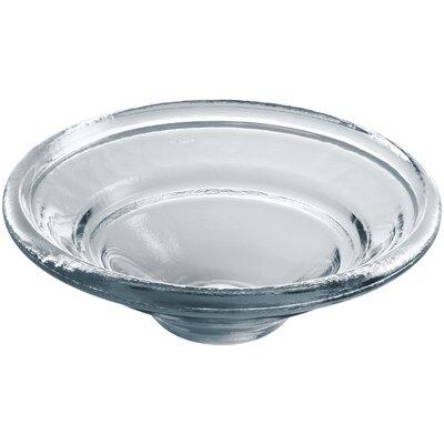 Spun Glass Circular Vessel Bathroom Sink Finish: Translucent Dusk