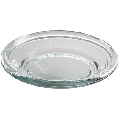 Spun Glass Circular Vessel Bathroom Sink Finish: Translucent Doe