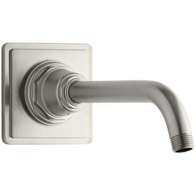 Pinstripe Showerarm and Flange Finish: Vibrant Brushed Nickel