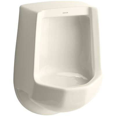 Freshman Siphon-Jet Wall-Mount 1 GPF Urinal with Rear Spud Finish: Almond