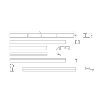 Shower Door Assembly Kit(Glass and Handle Not Included) Finish: Bright Polished Silver