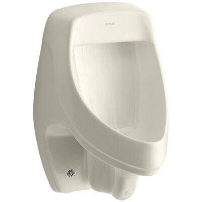 Dexter Siphon-Jet Wall-Mount 1/2 GPF Urinal with Rear Spud Finish: Almond