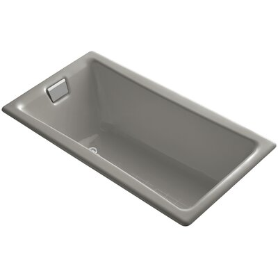 """Tea for Two for Two 60"""" x 32"""" Soaking Bathtub Finish: Cashmere"""