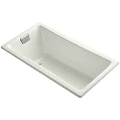 """Tea for Two for Two 60"""" x 32"""" Soaking Bathtub Finish: Dune"""