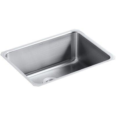 """Undertone Preserve 23"""" L x 17-1/2"""" W 9-13/16"""" Medium Under-Mount Single-Bowl Kitchen Sink"""