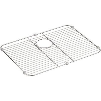 "Stainless Steel Sink Rack, 21-1/8"" x 15-3/4"" for K-3325-Na, K-3332-Na Undertone and K-3325-Hcf Undertone Preserve Sinks"