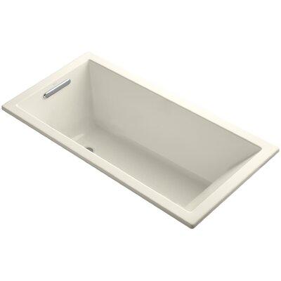 "Underscore 60"" x 30"" Soaking Bathtub Finish: Almond"