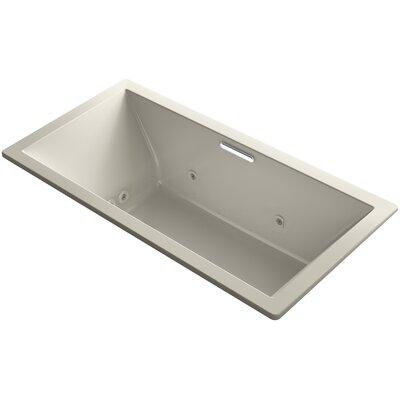 "Underscore 72"" x 36"" Air / Whirlpool Bathtub Finish: Sandbar"