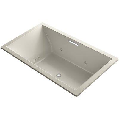 "Underscore 72"" x 42"" Air / Whirlpool Bathtub Finish: Sandbar"
