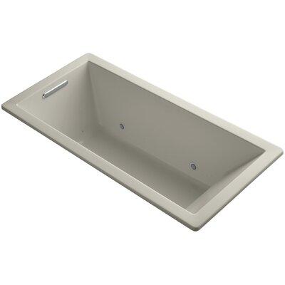 "Underscore 66"" x 32"" Air Bathtub Finish: Sandbar"
