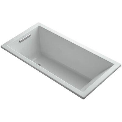 "Underscore 60"" x 30"" Soaking Bathtub Finish: Ice Grey"