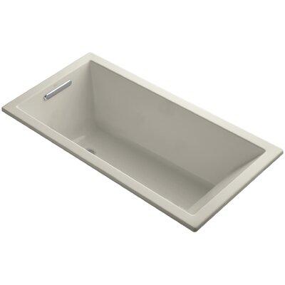 """Underscore 60"""" x 30"""" Soaking Bathtub Finish: Sandbar"""