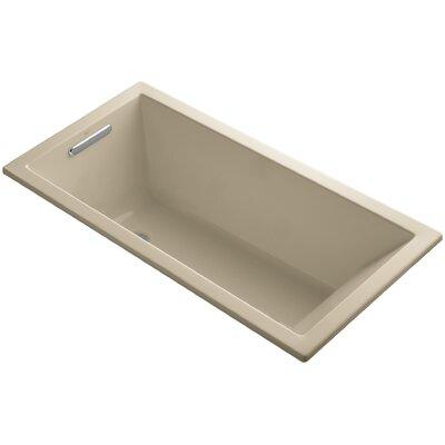 "Underscore 60"" x 30"" Soaking Bathtub Finish: Mexican Sand"
