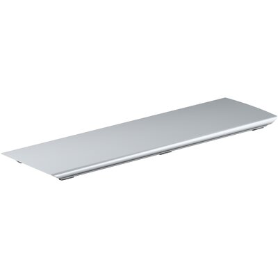"Bellwether 25.3"" Grid Shower drain Finish: Bright Silver"
