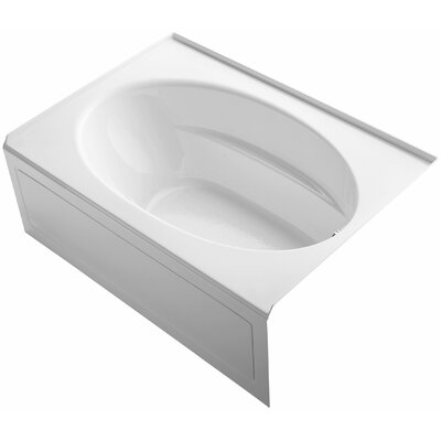 "Windward 60"" x 42"" Air Bathtub Finish: White"