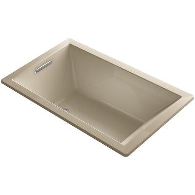 "Underscore 60"" x 36"" Air Bathtub Finish: Mexican Sand"