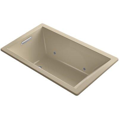 "Underscore 60"" x 36"" Soaking Bathtub Finish: Mexican Sand"
