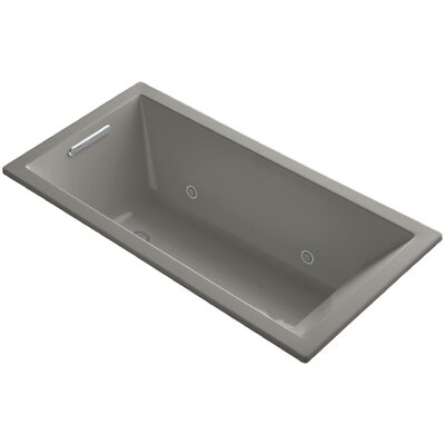 "Underscore 60"" x 30"" Soaking Bathtub Finish: Cashmere"