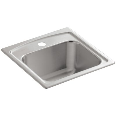 Toccata Top-Mount Bar Sink with Single Faucet Hole