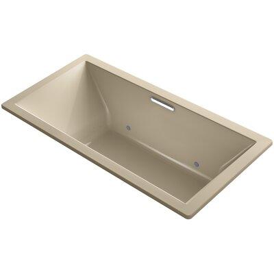 "Underscore 72"" x 36"" Air Bathtub Finish: Mexican Sand"