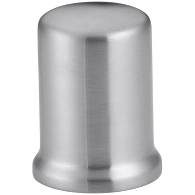 Air Gap Cover with Collar Finish: Brushed Chrome