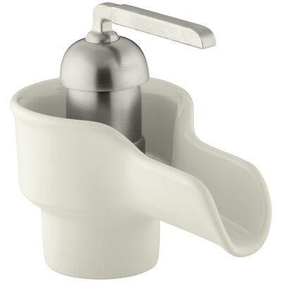 Bol Single-Hole Ceramic Bathroom Sink Faucet Finish: Biscuit
