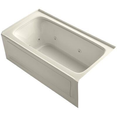 "Bancroft 60"" x 32"" Whirlpool Bathtub Finish: Almond"