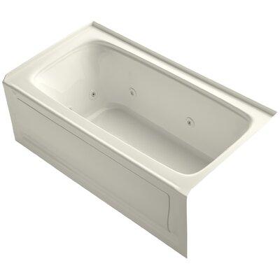 "Bancroft 60"" x 32"" Whirlpool Bathtub Finish: Biscuit"