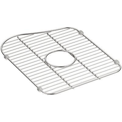 Staccato Stainless Steel Large Sink Rack for Left-Hand Bowl