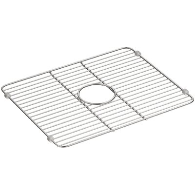 Iron Tones Smart Divide Stainless Steel Large Sink Rack