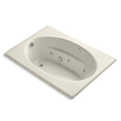 "Windward 60"" x 42"" Whirlpool Bathtub Finish: Almond"
