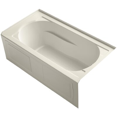 "Devonshire Alcove 60"" x 32"" Soaking Bathtub Finish: Biscuit"