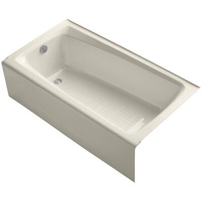 "Mendota 60"" x 32"" Soaking Bathtub Finish: Almond"