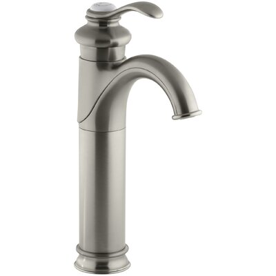 Fairfax Single hole Bathroom Faucet with Drain Assembly Finish: Vibrant Brushed Nickel