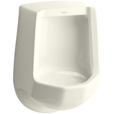 Freshman Siphon-Jet Wall-Mount 1 GPF Urinal with Rear Spud Finish: Biscuit