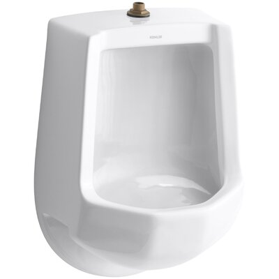 Freshman Siphon-Jet Wall-Mount 1 GPF Urinal with Top Spud Finish: White