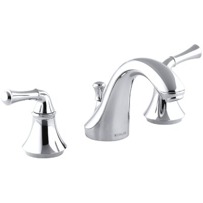Fort Widespread Bathroom Faucet with Drain Assembly Finish: Polished Chrome