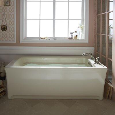 """Archer 68"""" x 32"""" Soaking Bathtub Finish: White"""