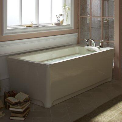 """Archer 68"""" x 32"""" Soaking Bathtub Finish: Sandbar"""