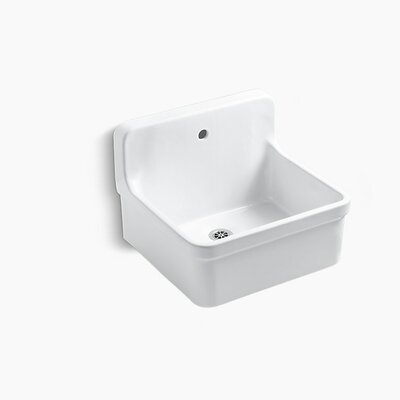 "Gilford 24"" x 22.13"" Single Bracket-Mounted Scrub-Up/Plaster Sink"